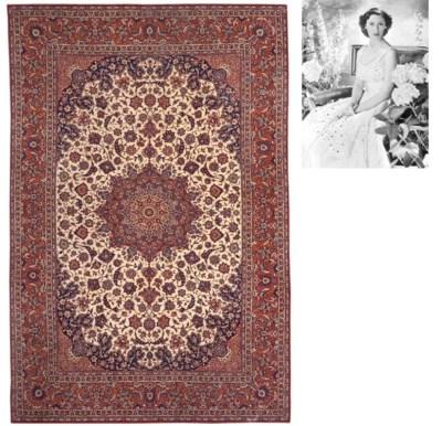 A very fine Isfahan carpet