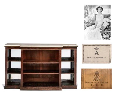 George VI's bookcase A Regency