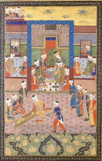 THE ENTHRONEMENT OF YUSIF