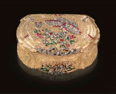 A VERY FINE AND RARE LOUIS XV
