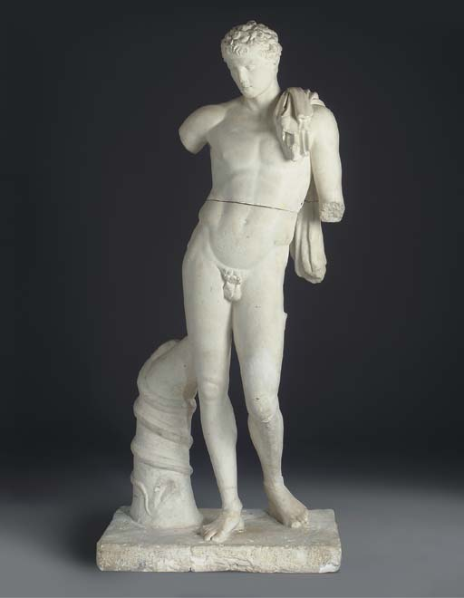A PLASTER MODEL OF THE BELVEDE
