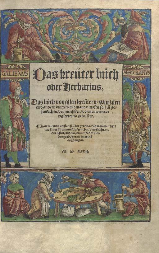 Das Kreüterbüch oder Herbarius