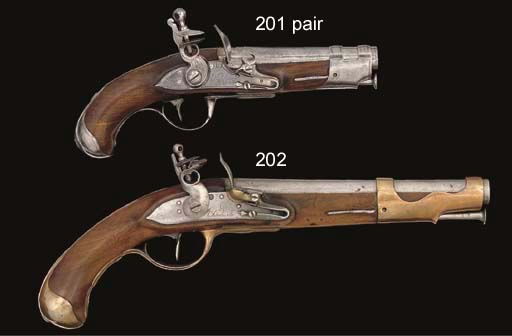 A PAIR OF FRENCH REGULATION FL