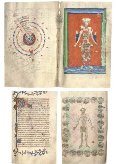 BOOK OF HOURS, use of Sarum, w