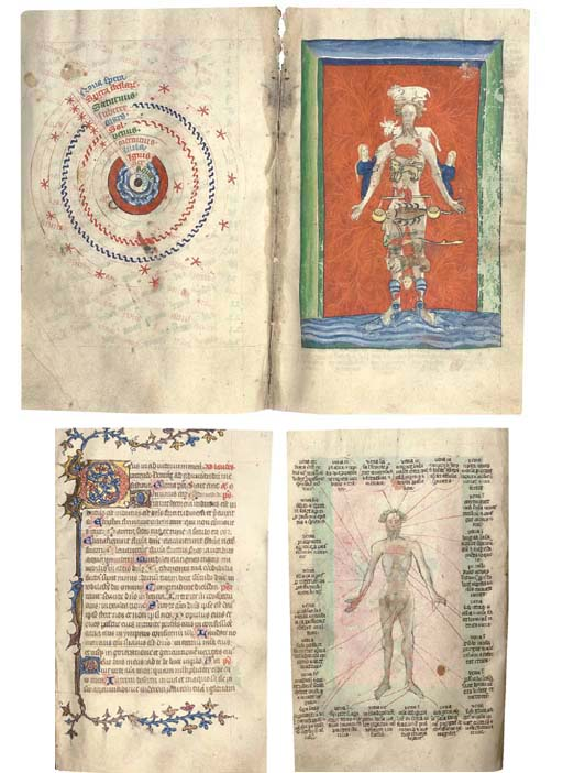 BOOK OF HOURS, use of Sarum, with CALENDRICAL AND ASTRONOMICAL TABLES, in Latin, ILLUMINATED MANUSCRIPT ON VELLUM