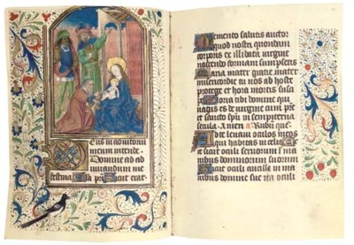 BOOK OF HOURS, use of Thérouan