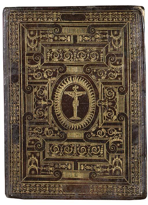 Regula della Confraternità & compagnaia del Sanctissimo Crucifisso della terra Anguillara, in Italian, MANUSCRIPT ON VELLUM, Anguillara, Lazio, before 1548.