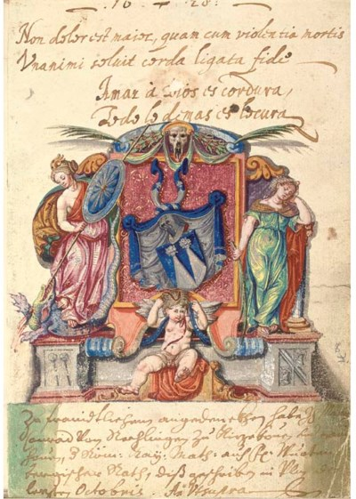 ALBUM AMICORUM of Johann Nikol