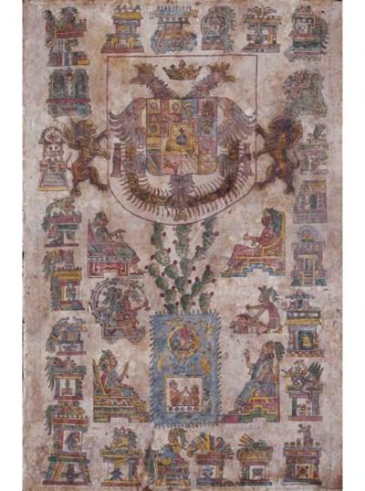MEXICO -- an illuminated docum