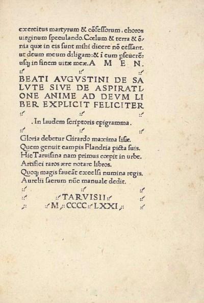 AUGUSTINUS, Aurelius (attribut