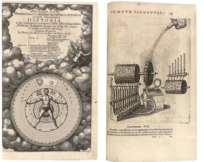 FLUDD, Robert (1547-1637). Utr