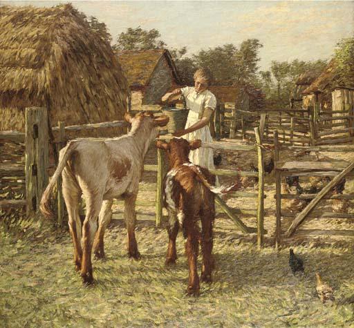 Henry Herbert La Thangue, R.A. (1859-1929)