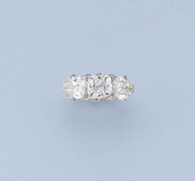AN EXCEPTIONAL ANTIQUE DIAMOND