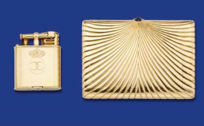 A CIGARETTE CASE, BY H WEISS,