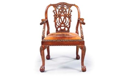 AN ENGLISH STAINED BEECHWOOD O