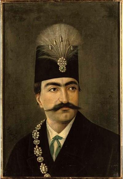 BUST PORTRAIT OF NASIR AL-DIN