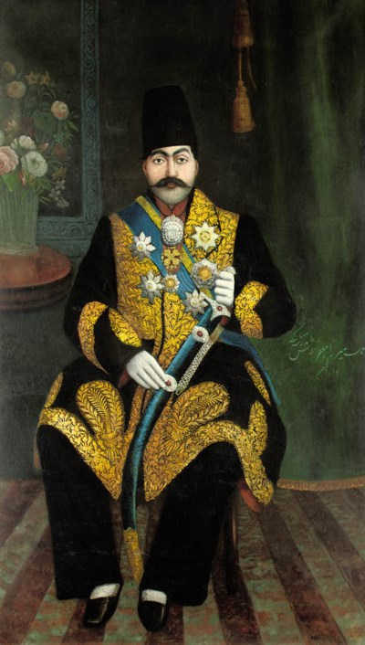 A MINISTER OF THE QAJAR COURT