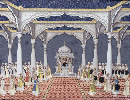 THE DARBAR OF SHAH 'ALAM II