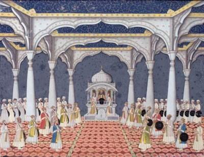THE DARBAR OF SHAH 'ALAM II