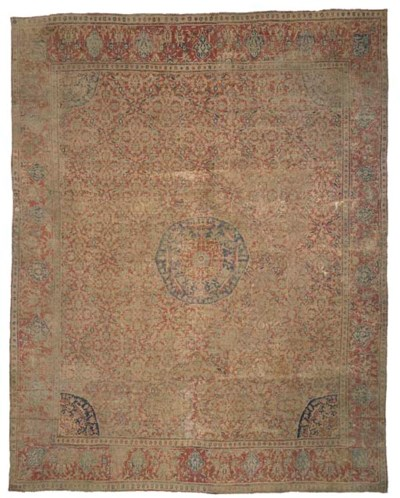 A LARGE CAIRENE CARPET