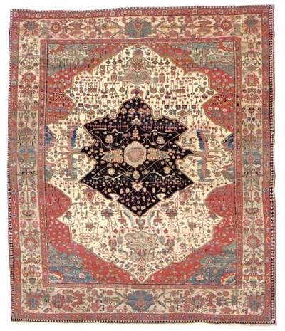 A KASHAN 'MOHTASHAM' CARPET