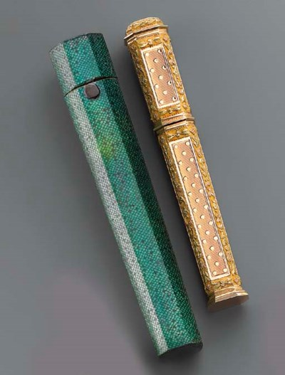A LOUIS XVI VARI-COLOUR GOLD S