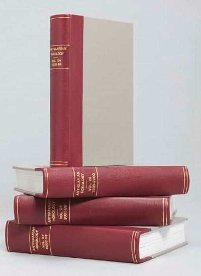 Antiquarian Horology, Volumes