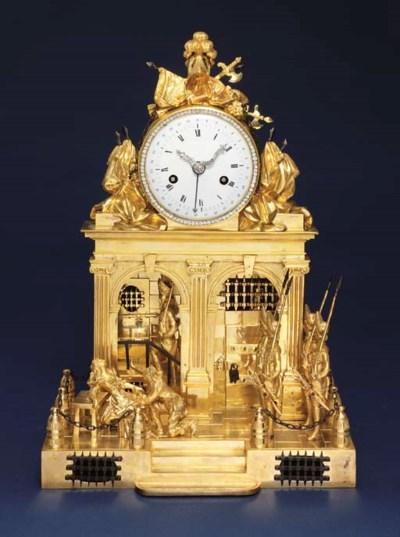 An unusual Louis XVI ormolu, p