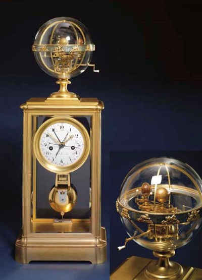 A Louis Philippe ormolu and gl