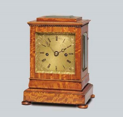 An early Victorian satinwood s