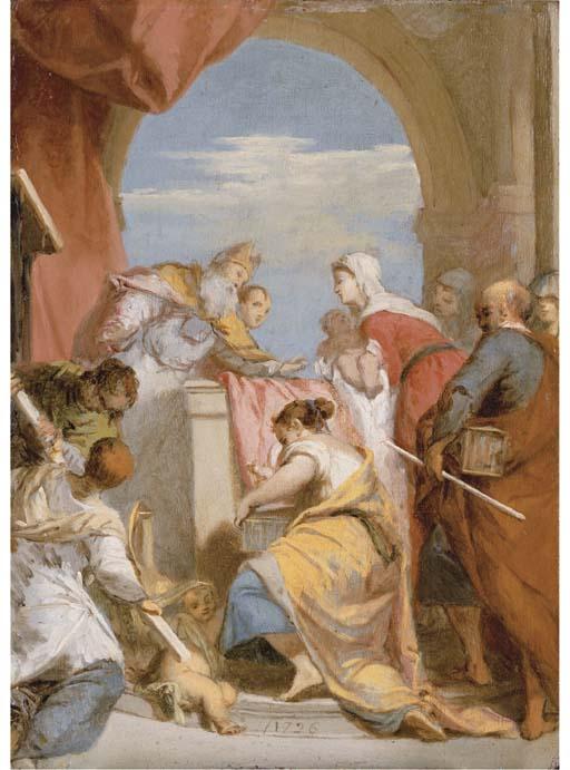Nicolas Vleughels (Paris 1668-1737 Rome)