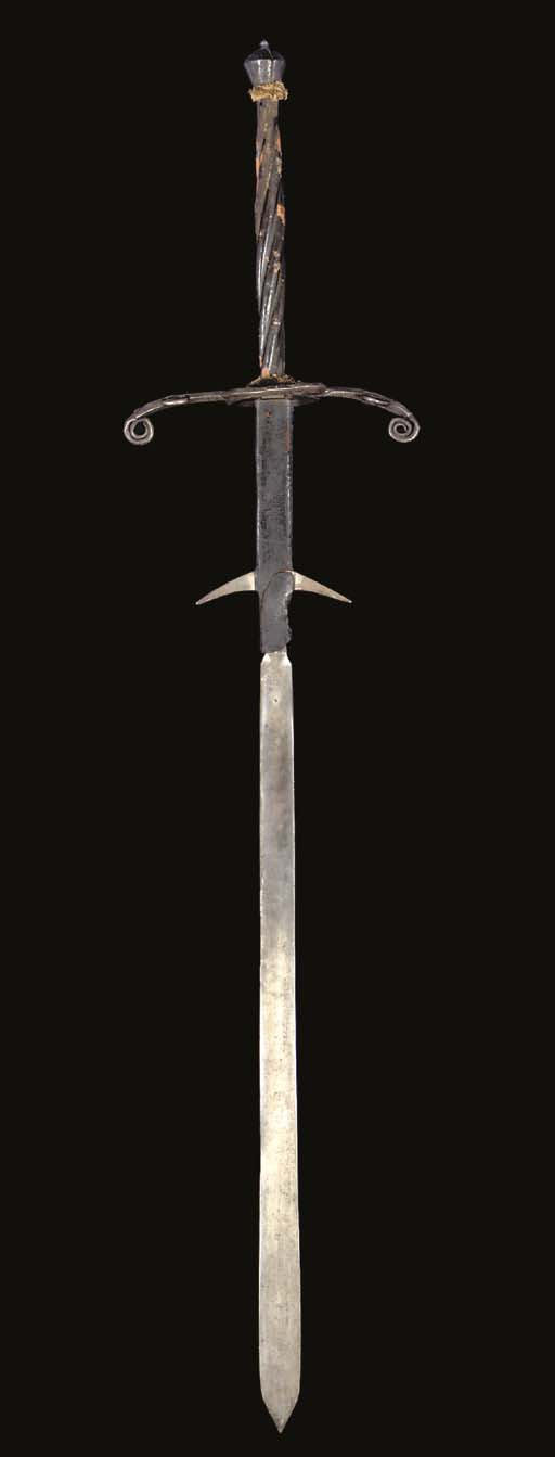 A GERMAN TWO-HAND PROCESSIONAL SWORD