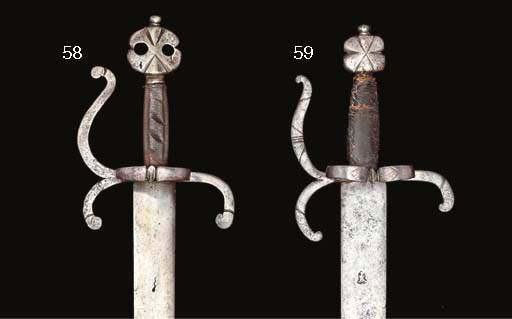 A GERMAN MILITARY BROAD SWORD