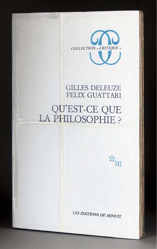 Thomas Hirschhorn B 1957 Gilles Deleuze Felix Guattari Qu