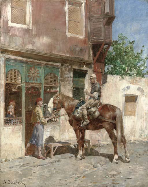Alberto Pasini (Italian, 1826-