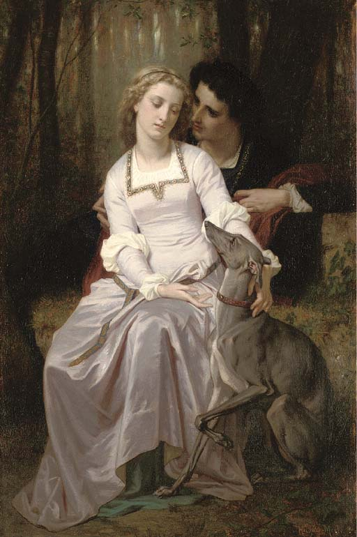 Hugues Merle (French, 1823-188