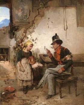 Domenico Induno (Italian, 1815-1878)