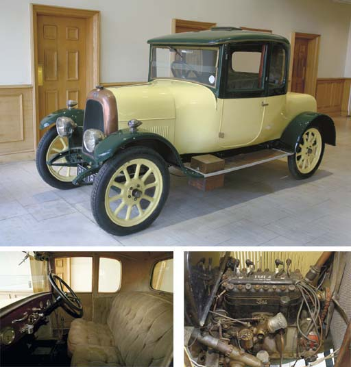 1922 FIAT 501 DOCTOR'S COUPE