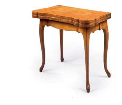 A LOUIS XV CHERRYWOOD AND PARQ