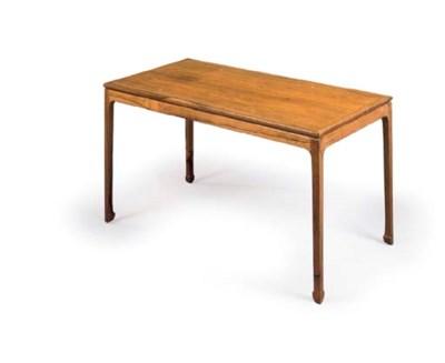 A DANISH ROSEWOOD COFFEE TABLE