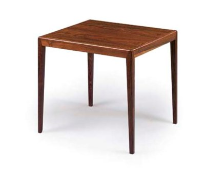 A DANISH ROSEWOOD OCCASIONAL T