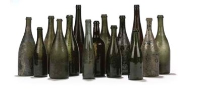 A COLLECTION OF WINE BOTTLES