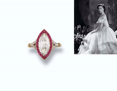 A BELLE EPOQUE DIAMOND AND RUB
