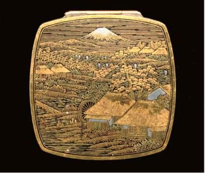 A Japanese Komai style box, im
