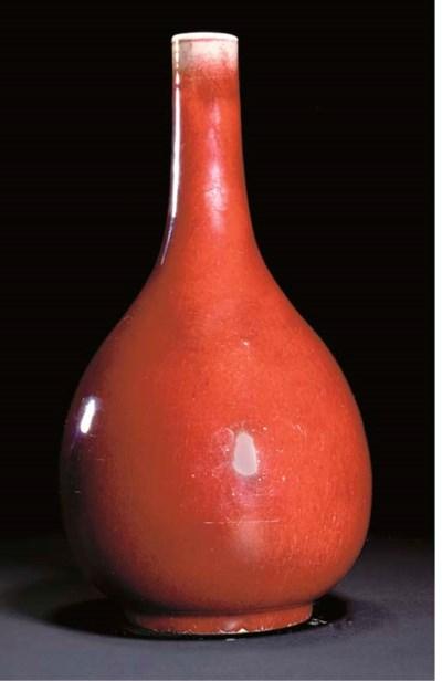 A sang-de-boeuf pear-shaped va
