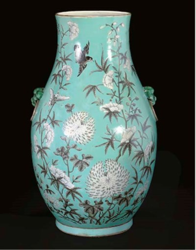 An Empress Dowager vase, 19th