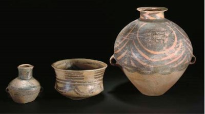 A Neolithic pottery jar