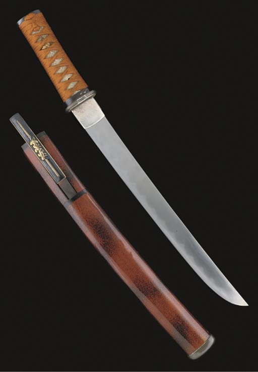 A Japanese tanto, the blade 18
