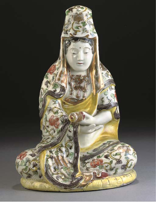 A Japanese polychrome model of
