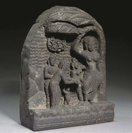 A Nepalese wood carving, 18th/